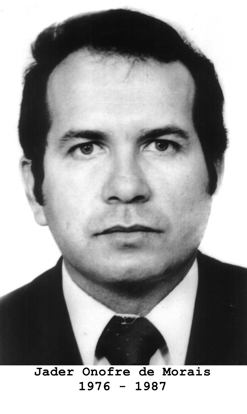 Jader Onofre de Morais 1976 - 1987